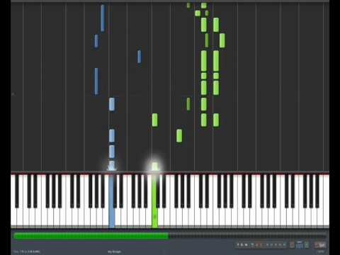 The GazettE - Pledge (piano part) - Synthesia