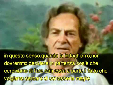 Richard Feynman: Conoscere La Natura