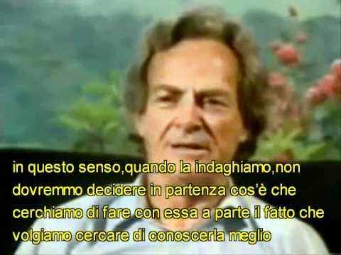 Richard Feynman: Conoscere La Natura
