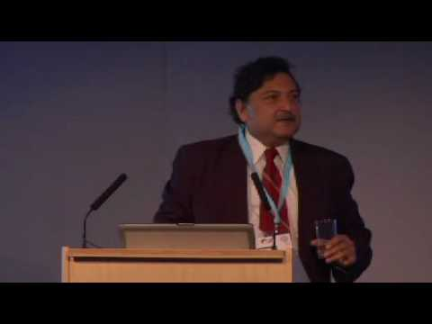 Sugata Mitra speaking at LATWF 2010