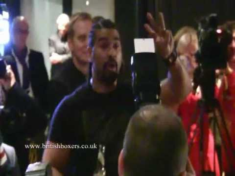 Haye vs Chisora Fight Video from Munich Presser - Full video