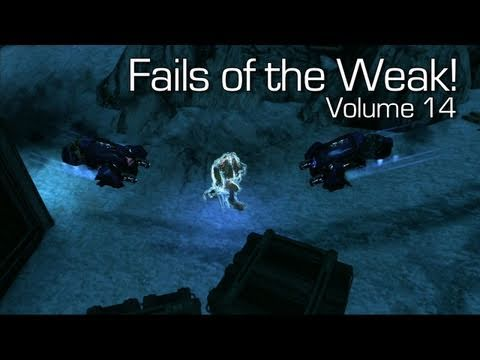 Halo: Reach - Fails of the Weak Volume 14 (Funny Halo: Reach Bloopers)