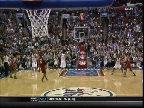 February 03, 2012 - Sunsports - Game 23 Miami Heat @ Philadelphia 76ers - Win (17-06)