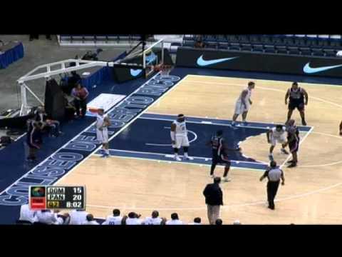 RD 79 - Panama 62 - Centrobasket 2012 (Partido Completo)