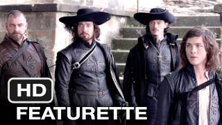 Three Musketeers (2011) New Wondercon Featurette Reel - HD Movie