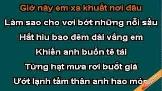 Nỗi sầu đêm vắng - karaoke ( only beat )
