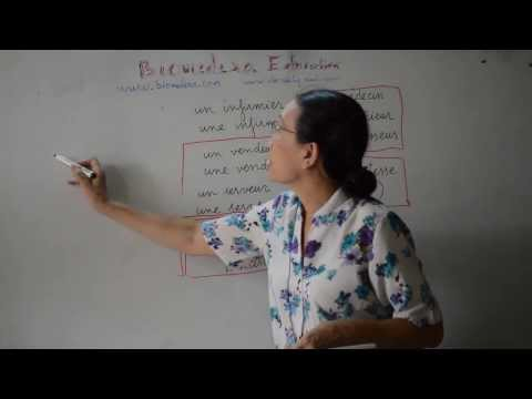 Bài 10: Động từ être và các danh từ về nghề nghiệp - verbe être (suite)