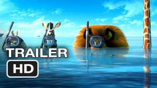 Madagascar 3 Official Trailer (2012) HD