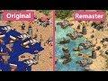 Age of Empires – Original vs. Definitive Edition Graphics Comparison Official Shots