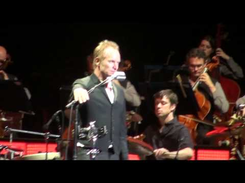 Sting (HD) - Fields Of Gold - Symphonicity Tour