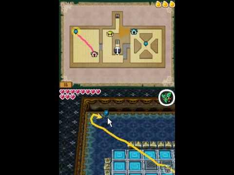 Zelda Spirit Tracks-113ª parte: recuperando trenes