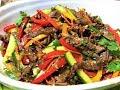 Мясо по - Крейски с Овощами. Салат-БОМБА   Вкуснее и не придумаешь! Meat salad