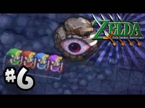 The Legend of Zelda: Four Swords Adventures - Part 6 - Eastern Temple