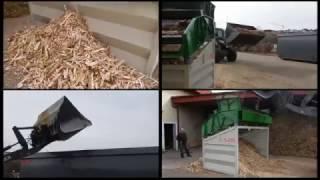 LS28 Hackschnitzel sieben / Screening of Wood Chips