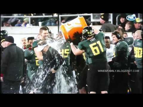 Pac-12 Championship post game celebration and trophy presentation 12/2/2011