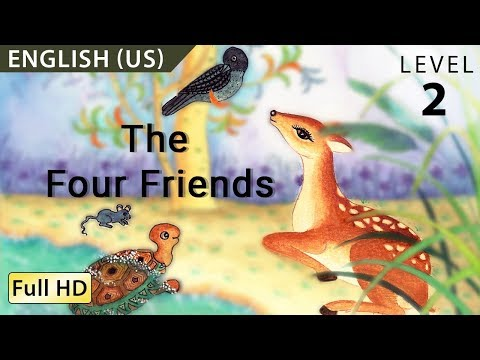 "The Four Friends: Learn English with subtitles - Story for Children ""BookBox.com"""