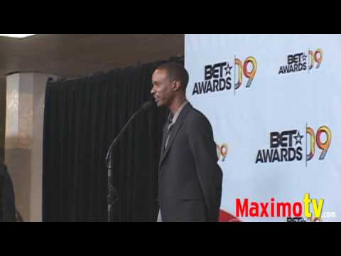 TEVIN CAMPBELL on Michael Jackson at 2009 BET Awards Press Room - maximotv
