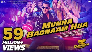 Dabangg 3: Munna Badnaam Hua Video