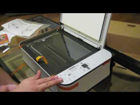 Unboxing Canon Pixma MP250