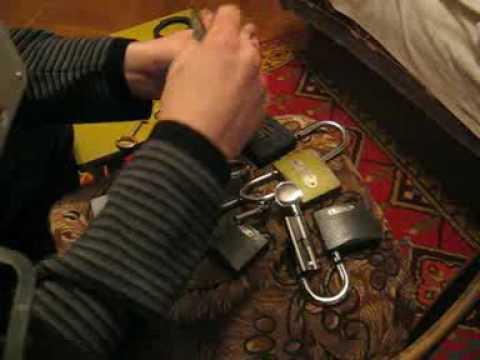 Методика взлома сувальдного замка путем высверливания опорной стойки.
