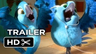 Rio 2 Official Trailer (2014) - Animated Sequel HD