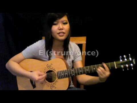 "tutorial: ""who says"" by selena gomez guitar chords *no capo!*"