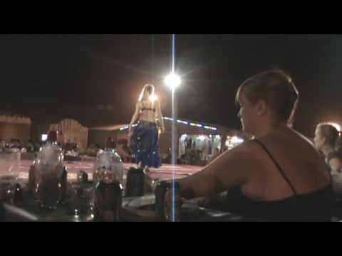 Dubai Desert Safari Belly Dance Part 2/4
