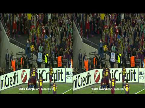 UEFA CHAMPIONS LEAGUE 2010-2011 - FC Barcelona vs Manchester United FC - EM HD3D
