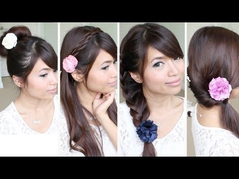 Quick & Easy Back-to-School Hairstyles