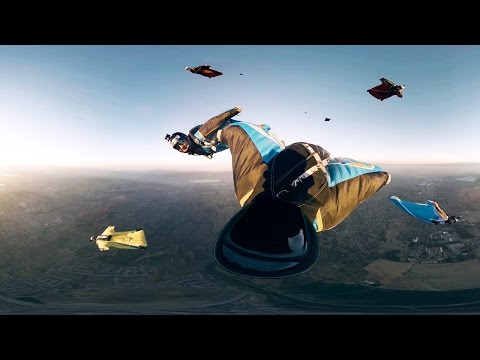 GoPro VR: Skydiving with GoPro Bombsquad - A Virtual Reality Experience