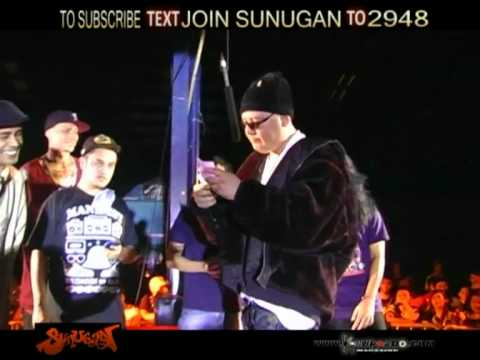 SUNUGAN - SILENCER vs HARLEM vs ANDY G ***BATTLE ROYAL***
