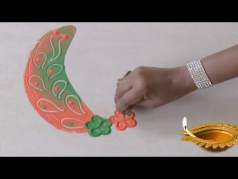 Latest Special Rangoli Design 25
