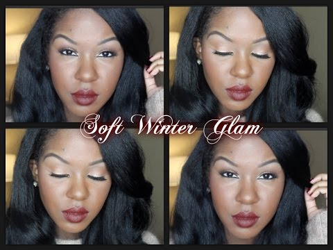 Soft Winter Glam (Too Faced Semi Sweet Chocolate Bar Palette)