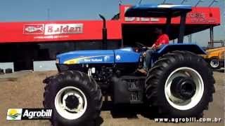 Agrobill Tratores e Implementos - Trator New Holland 7630 4x4 2008mp4