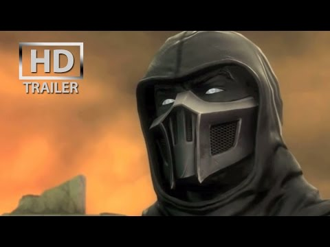 Mortal Kombat 9 - Noob Saibot | gameplay trailer [HD] OFFICIAL Trailer MK9 (2011)