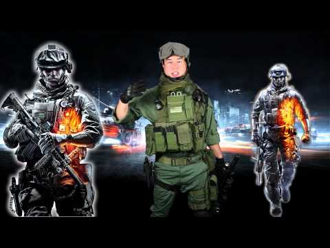Airsoft GI - Battlefield 3 Inspired M4 Carbine and Tactical Gear Load Out