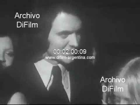 DiFilm - Camilo Sesto en Argentina por primera vez 1972