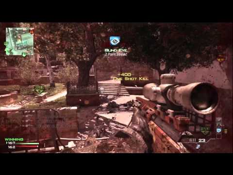 Insane MW3 MSR Quad Feed