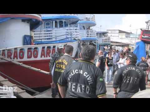 Polícia realiza vistoria em porto da Manaus moderna