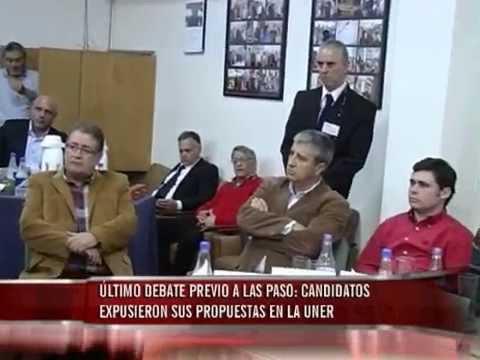 Debate previa a las PASO: candidatos expusieron sus propuestas