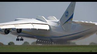 Невероятный взлет самого большого в мире самолета АН-225 Мрія