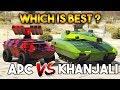 GTA ONLINE : KHANJALI VS APC ( WHICH IS BETTER ? )