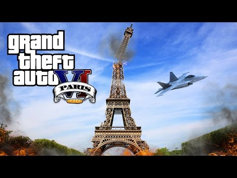 Grand Theft Auto VI - Paris City (Parodie)