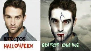 Agrega efectos de Halloween a tus fotos online - Perfil Portada Facebook