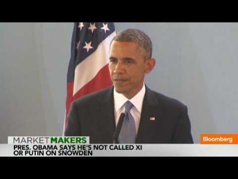 Obama: Edward Snowden Pursuit Being Handled by Law Enforcement  6/27/13