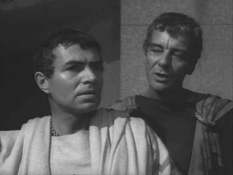 We should totally just STAB CAESAR! (Julius Caesar 1953)
