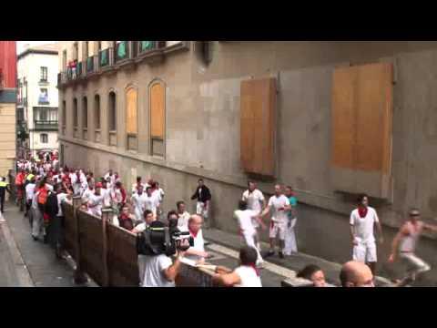 Primer encierro de San Fermín 2011