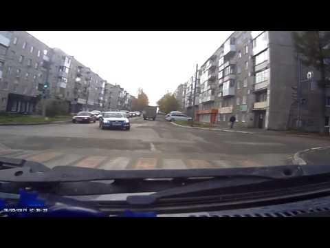 Авария с нисаном 30 09 2014