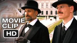 A Dangerous Method Movie CLIP - Viggo Mortenson, Michael Fassbender, David Cronenberg (2011) HD