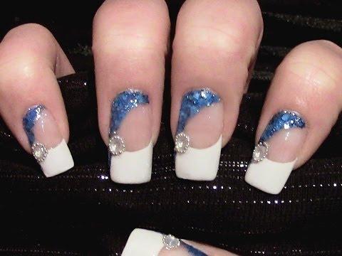 Nageldesign für kurze nägel selber machen animal print nail design